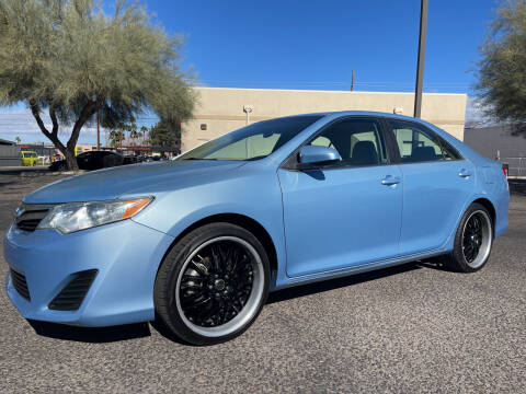 2012 Toyota Camry for sale at Tucson Auto Sales in Tucson AZ