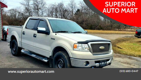 2006 Ford F-150 for sale at SUPERIOR AUTO MART in Amelia OH