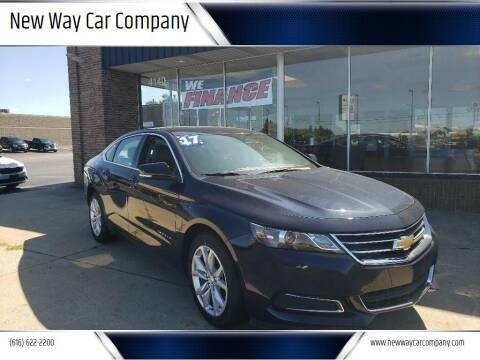 2017 Chevrolet Impala for sale at New Way Car Company in Grand Rapids MI