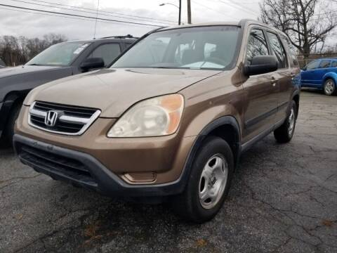 2003 Honda CR-V for sale at DREWS AUTO SALES INTERNATIONAL BROKERAGE in Atlanta GA