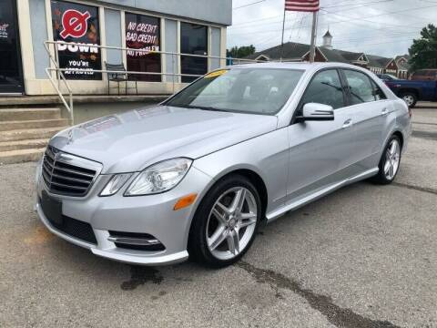 2013 Mercedes-Benz E-Class for sale at Bagwell Motors in Lowell AR