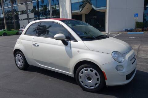 2012 FIAT 500c for sale at SR Motorsport in Pompano Beach FL