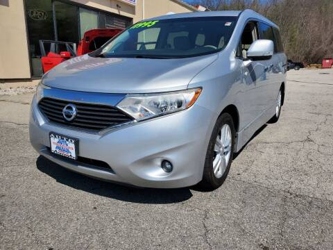 2011 Nissan Quest for sale at Auto Wholesalers Of Hooksett in Hooksett NH
