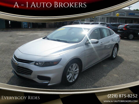 2017 Chevrolet Malibu for sale at A - 1 Auto Brokers in Ocean Springs MS
