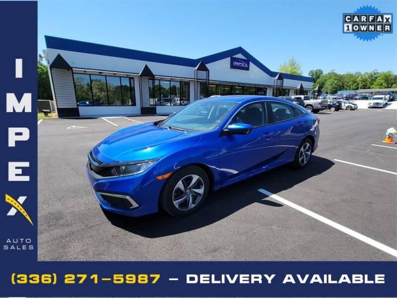 2020 Honda Civic for sale at Impex Auto Sales in Greensboro NC