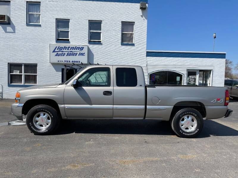 1999 GMC Sierra 1500 for sale at Lightning Auto Sales in Springfield IL
