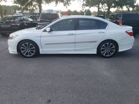 2015 Honda Accord for sale at Econo Auto Sales Inc in Raleigh NC