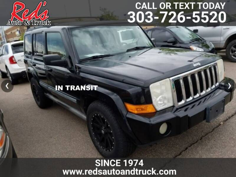 2007 Jeep Commander for sale at Red's Auto and Truck in Longmont CO