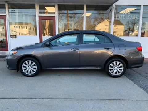 2013 Toyota Corolla for sale at O'Connell Motors in Framingham MA