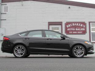 2017 Ford Fusion for sale at Brubakers Auto Sales in Myerstown PA