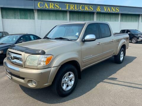 2006 Toyota Tundra for sale at Vista Auto Sales in Lakewood WA