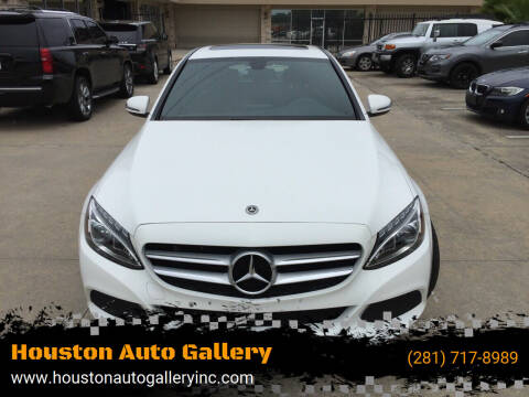 2018 Mercedes-Benz C-Class for sale at Houston Auto Gallery in Katy TX