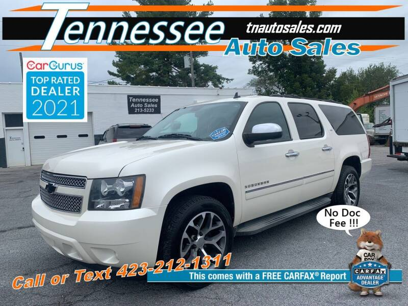 2013 Chevrolet Suburban for sale at Tennessee Auto Sales in Elizabethton TN