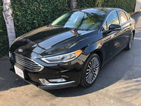 2017 Ford Fusion for sale at Elite Dealer Sales in Costa Mesa CA