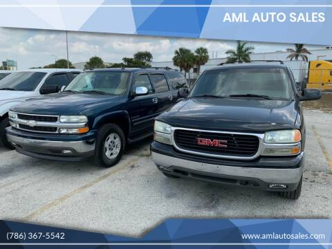 2002 GMC Yukon XL for sale at AML AUTO SALES - Sedans/SUV's in Opa-Locka FL
