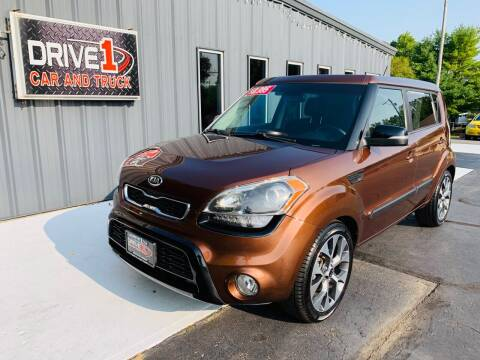 2012 Kia Soul for sale at Drive 1 Car & Truck in Springfield OH