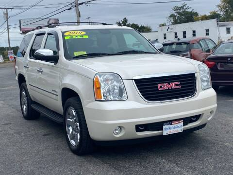2010 GMC Yukon for sale at MetroWest Auto Sales in Worcester MA