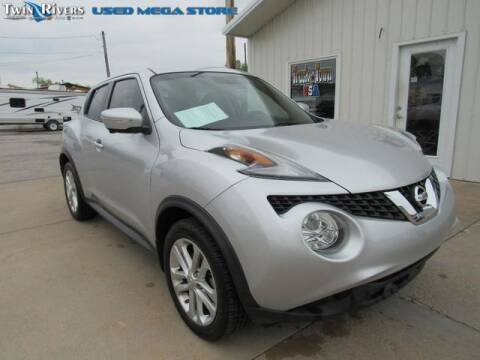 2015 Nissan JUKE for sale at TWIN RIVERS CHRYSLER JEEP DODGE RAM in Beatrice NE
