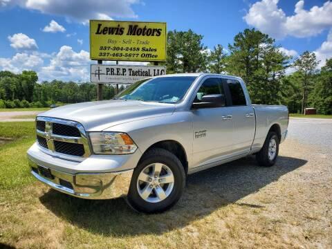2015 RAM Ram Pickup 1500 for sale at Lewis Motors LLC in Deridder LA