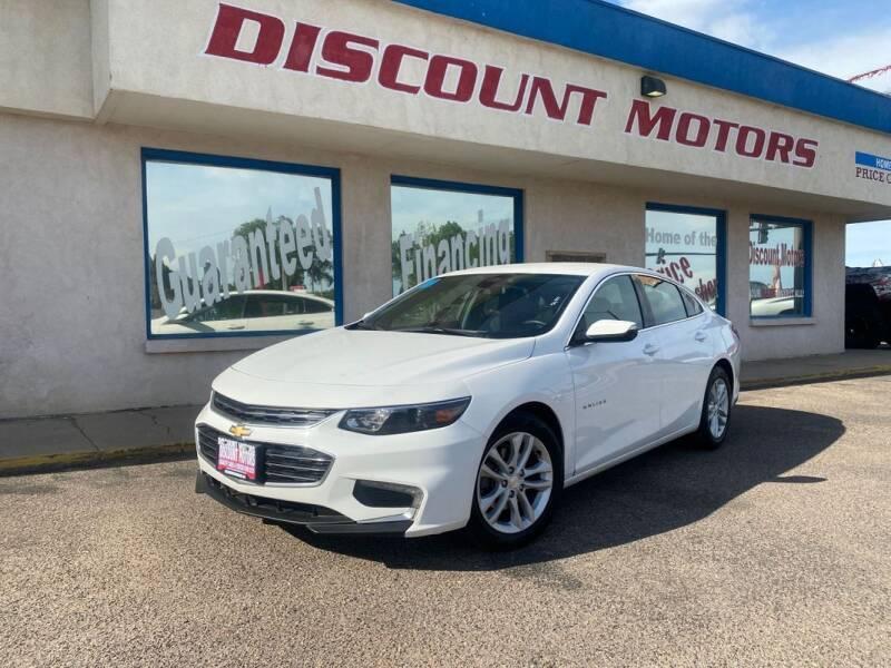 2018 Chevrolet Malibu for sale at Discount Motors in Pueblo CO