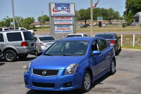 2010 Nissan Sentra for sale at Motor Car Concepts II - Apopka Location in Apopka FL