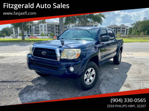 2006 Toyota Tacoma for sale at Fitzgerald Auto Sales in Jacksonville FL
