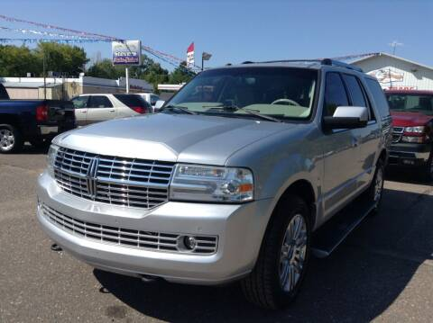 2011 Lincoln Navigator for sale at Steves Auto Sales in Cambridge MN