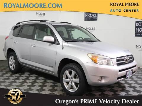 2008 Toyota RAV4 for sale at Royal Moore Custom Finance in Hillsboro OR