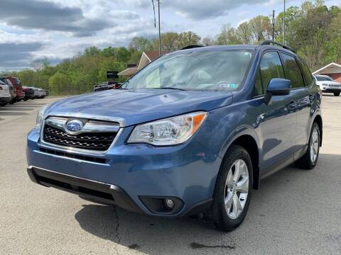 2015 Subaru Forester for sale at Elite Motors in Uniontown PA