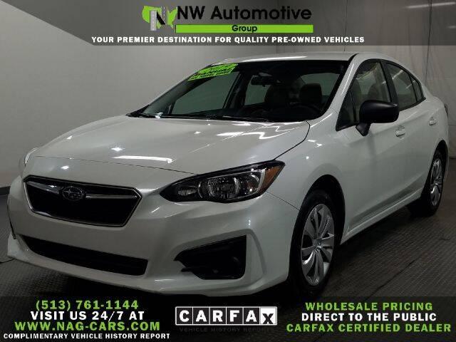 2019 Subaru Impreza for sale at NW Automotive Group in Cincinnati OH