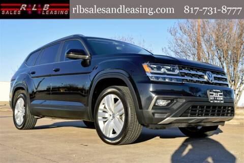 2019 Volkswagen Atlas for sale at RLB Sales and Leasing in Fort Worth TX