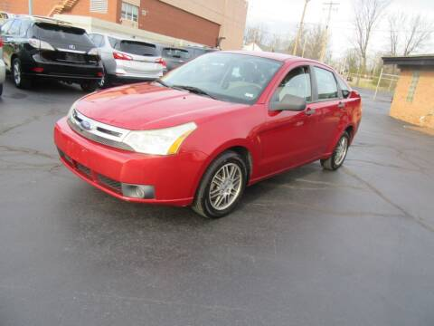 2010 Ford Focus for sale at Riverside Motor Company in Fenton MO