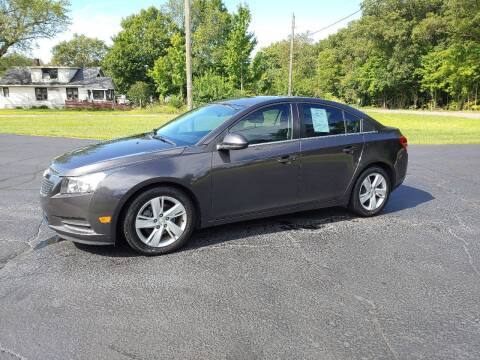 2014 Chevrolet Cruze for sale at Depue Auto Sales Inc in Paw Paw MI