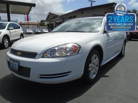2015 Chevrolet Impala Limited for sale at Centre City Motors in Escondido CA