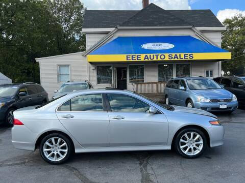 2007 Acura TSX for sale at EEE AUTO SERVICES AND SALES LLC in Cincinnati OH