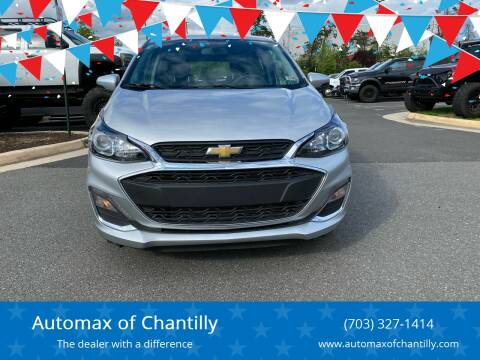 2020 Chevrolet Spark for sale at Automax of Chantilly in Chantilly VA