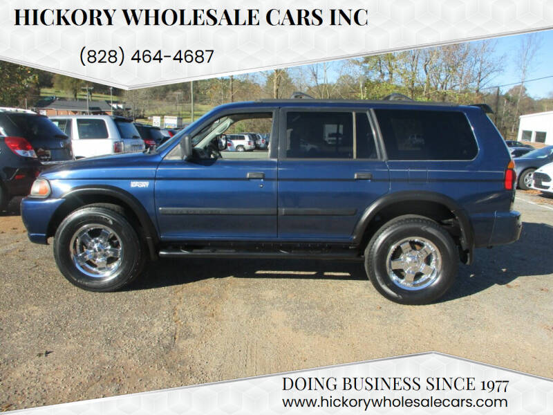 2000 Mitsubishi Montero Sport for sale at Hickory Wholesale Cars Inc in Newton NC