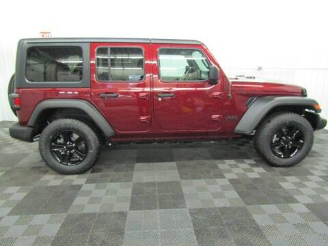 2021 Jeep Wrangler Unlimited for sale at Michigan Credit Kings in South Haven MI
