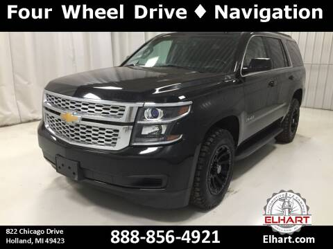 2017 Chevrolet Tahoe for sale at Elhart Automotive Campus in Holland MI