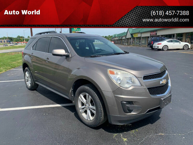 2011 Chevrolet Equinox for sale at Auto World in Carbondale IL