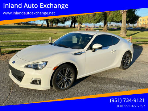 2016 Subaru BRZ for sale at Inland Auto Exchange in Norco CA