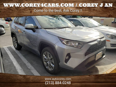 2019 Toyota RAV4 for sale at WWW.COREY4CARS.COM / COREY J AN in Los Angeles CA