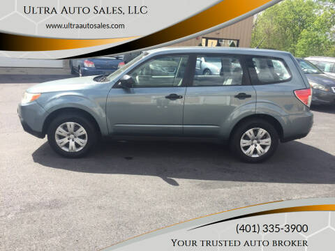 2009 Subaru Forester for sale at Ultra Auto Sales, LLC in Cumberland RI