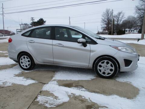 2013 Ford Fiesta for sale at Crossroads Used Cars Inc. in Tremont IL