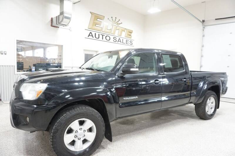 2015 Toyota Tacoma for sale at Elite Auto Sales in Ammon ID