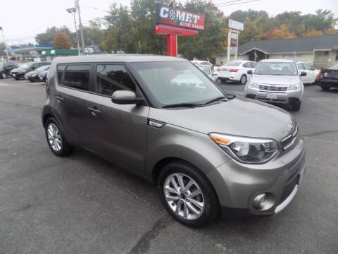 2017 Kia Soul for sale at Comet Auto Sales in Manchester NH