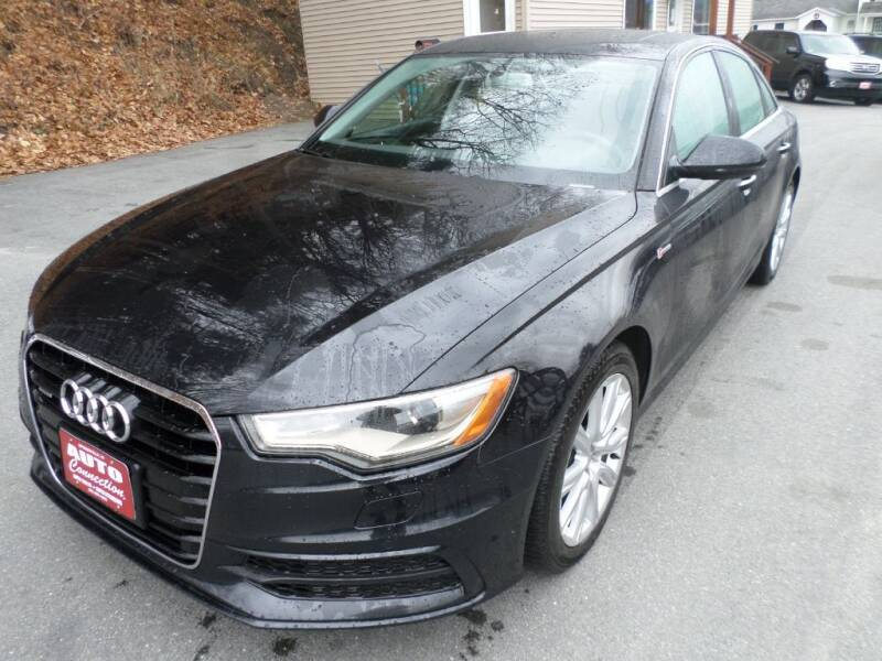 2013 Audi A6 for sale at AUTO CONNECTION LLC in Springfield VT