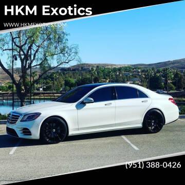2019 Mercedes-Benz S-Class for sale at HKM Exotics in Corona CA