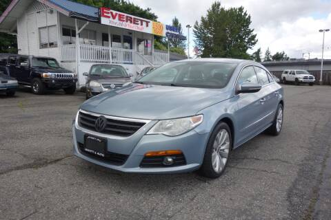 2010 Volkswagen CC for sale at Leavitt Auto Sales and Used Car City in Everett WA