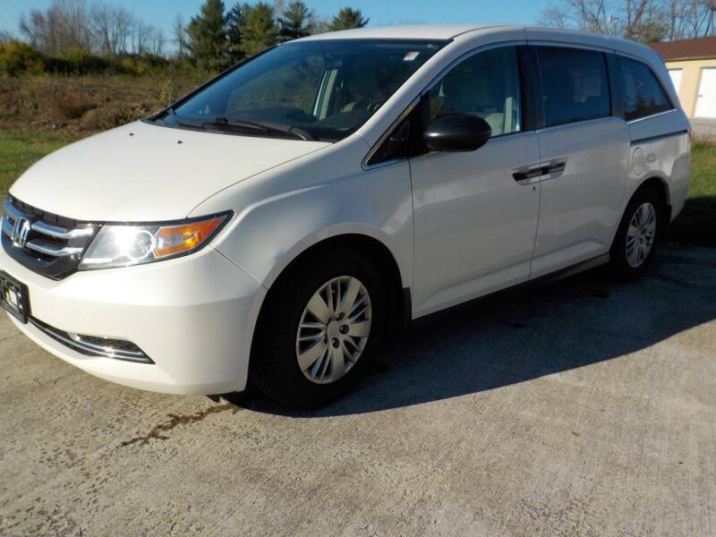 2015 Honda Odyssey for sale at Automotive Locator- Auto Sales in Groveport OH